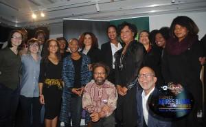 Les collaborateurs de l'exposition Égéries Noires à la Place-des-Arts