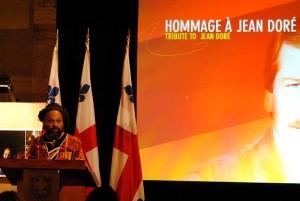 Hommage au maire Jean Doré lors du 25e Mois de l'Histoire des Noirs en 2016