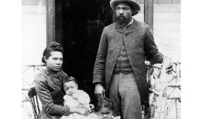John Ware, sa femme Mildred et leurs enfants en 1896 en Alberta
