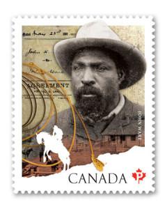 Postes Canada a émis un timbre commémoratif de John Ware pour souligner le Mois de l'Histoire des Noirs en 2012.