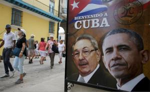 Barack Obama et sa famille ont visité la vieille Havane (La Habana Vieja) durant sa visite historique