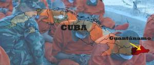 À la suite de la guerre hispano-américaine de 1898, Cuba accède à l'indépendance mais dans les faits devient un protectorat américain. Les États-Unis, qui avaient utilisé la baie pendant et après le conflit en obtiennent la location perpétuelle le 23 février 1903, accordée par Tomás Estrada Palma, premier président de Cuba (et citoyen américain) dans le cadre du traité américano-cubain. Depuis 2002, la base navale abrite une prison militaire, le camp de détention de la baie de Guantánamo où les États-Unis détiennent des personnes qualifiées de « combattants irréguliers », capturées par l'armée américaine dans les différentes opérations qu'elle mène à l'étranger.