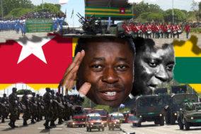 Sur les 56 années d'indépendance du Togo, les Gnassingbé père et fils ont occupé le pouvoir durant près de 50 années (37 ans 9 mois et 21 jours pour le père, 11 ans pour le fils)