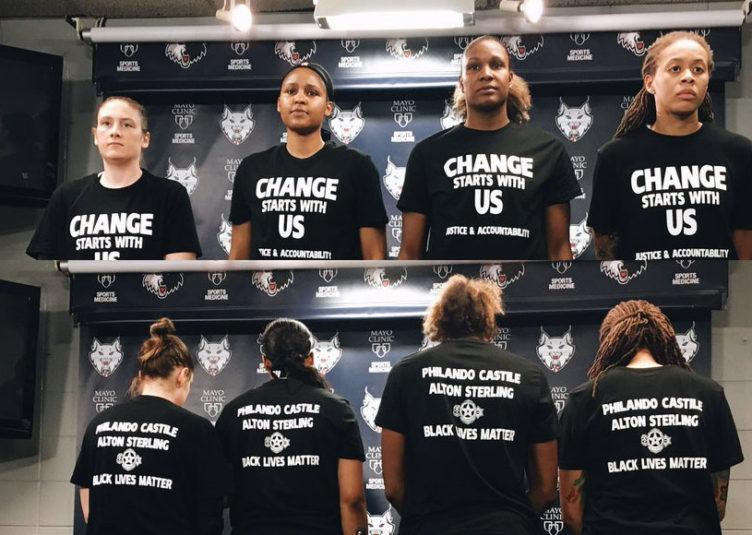 Pour avoir altéré leurs chandails en support au Black Lives Matter, chaque équipe a reçu une amende de 5000 $ et les joueuses ont reçu une amende de 500 $ chacune, parce que selon les déclarations de la WNBA les uniformes ne peuvent être modifiés en aucune façon. L'amende normale pour violations de l'intégrité de l'uniforme est pourtant de 200 $.