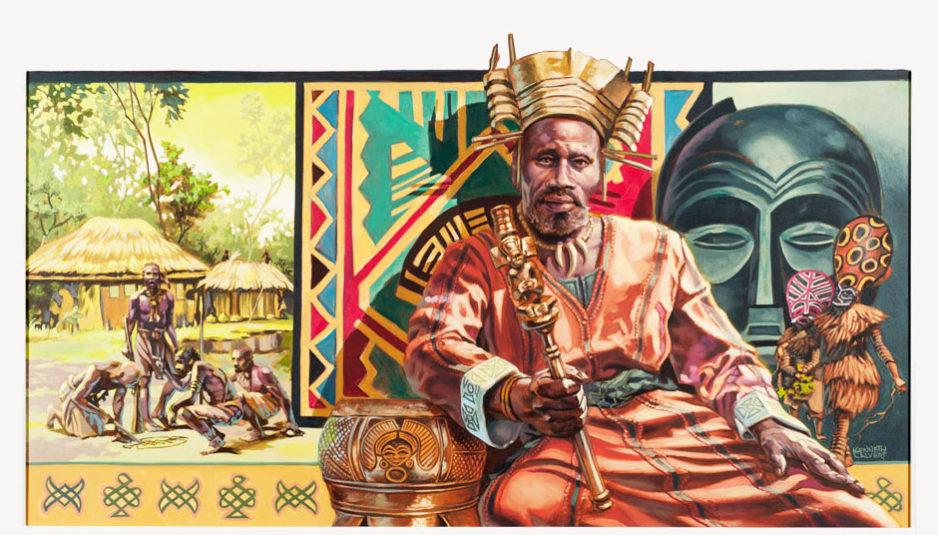 Ndumbo Tembo, souverain des Tchokwés (1840-1880) a choisi de restreindre l'accès de son territoire aux Européens.