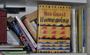 Homegoing est le premier roman de Yaa Gyasi. Ce best-seller a connu des recettes de plus d'un million de dollars en 2015.