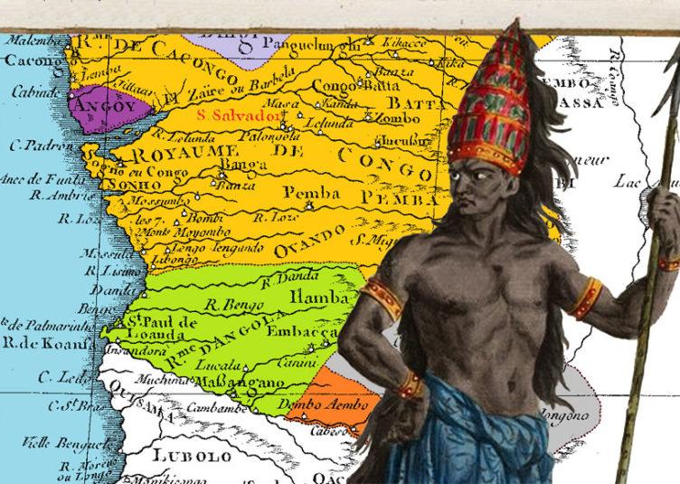 A l'époque du premier contact avec les Portugais, le Royaume Kongo devait avoir une étendue de plus de 300 000 km².