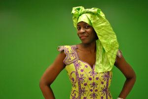 Alice Niang, coordonatrice du défilé de mode est également fondatrice de Afro Women Workshops