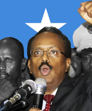 Au début du mois d'août 2012, Farmajo s'est présenté comme candidat à la présidence aux élections de 2012 en Somalie. Il a été parmi les différents challengers qui ont été éliminés lors du premier tour de vote.