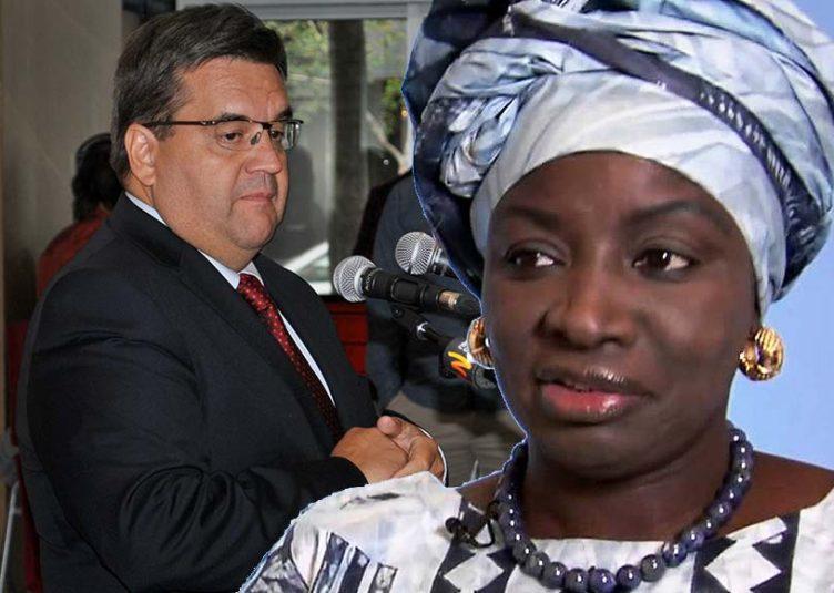 Denis Coderre et Aminata Touré