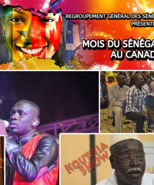 Le Regroupement Général des Sénégalais du Canada (RGSC) invite la population à venir célébrer le Mois du Sénégal au Canada.