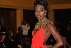 Athaliah Samuel, Miss Trinité-et-Tobago 2015 compte parmi les mannequins de cette seconde édition de la Semaine de la Mode Caribéenne