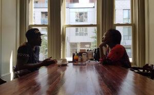 Ti-Kid et Pascale Gabrielle au Parma Café, au centre-ville de Montréal le 19 juillet 2017