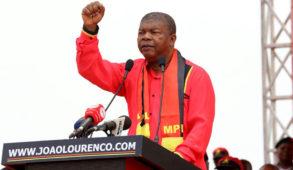 Le Président angolais João Lourenço