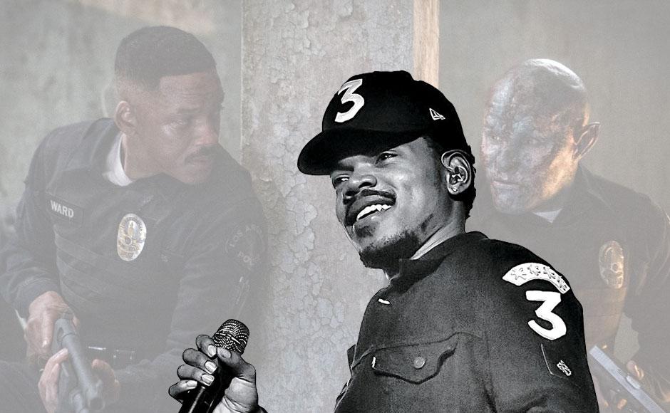 Chance the Rapper déplore l'allégorie boiteuse sur le racisme du film « Bright » de Netflix