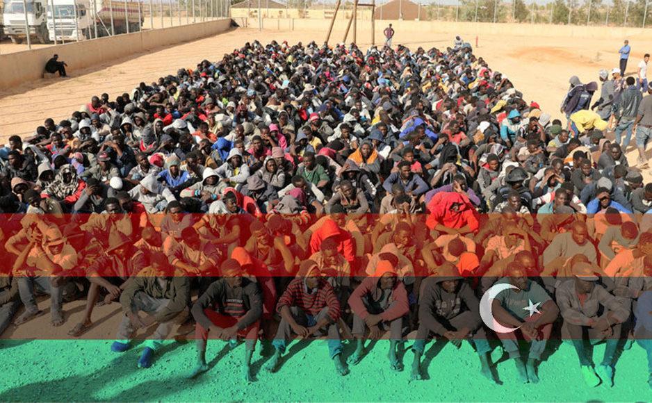 Des rapports indiquent que des Africains sont vendus et revendus pour environ 400 $ en Libye.