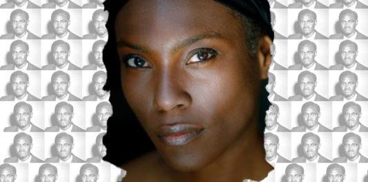 'actrice Mata Garbin qui joue Hélène Bijou dans le film Lumumba de Raoul Peck.