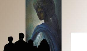 "Le tableau ""Tutu"" (1973) par Ben Enwonwu représente la sublime beauté de la Princesse Ife Adetutu Ademiluyi."