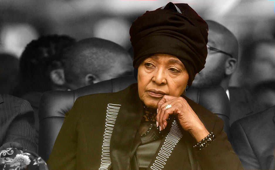 Winnie Mandela, née le 26 septembre 1936 est morte le 2 avril 2018