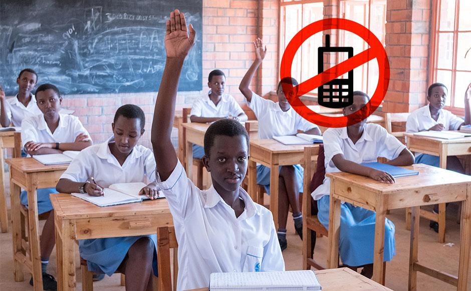 Le Rwanda retire les téléphones portables des écoles