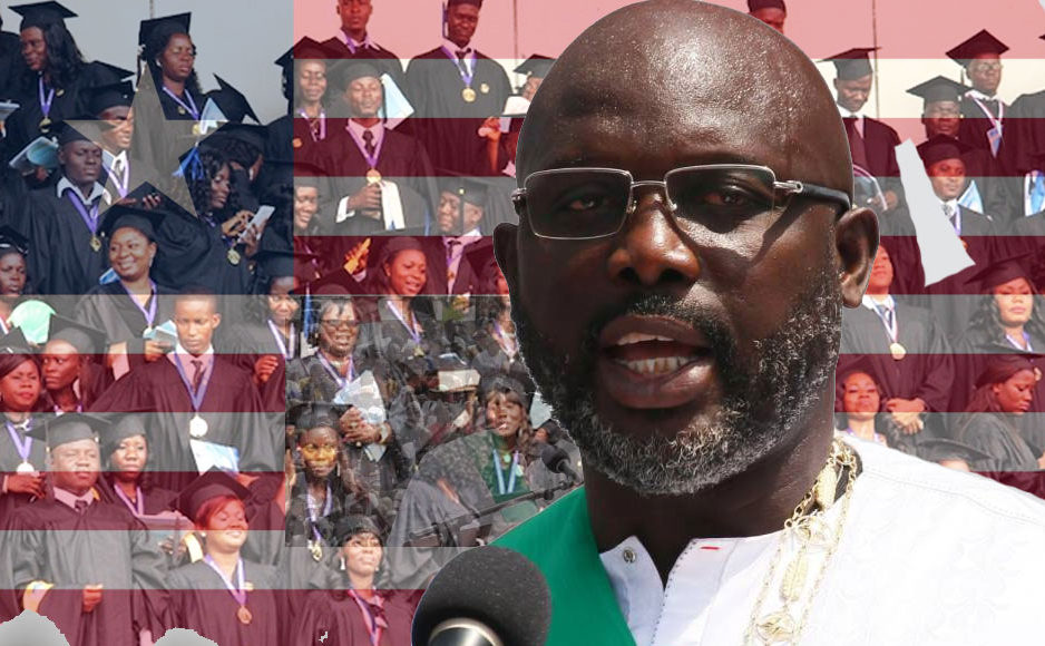 Élu à la tête du Liberia avec 61,5 % des voix au second tour de la présidentielle du 26 décembre 2017, George Weah succède à Ellen Johnson Sirleaf, lauréate du prix Nobel de la paix, au pouvoir depuis janvier 2006. Dans une interview accordée à Reuters le 2 janvier 2018, l'ancienne star du football, 51 ans, a promis de rendre le pays autonome sur le plan agricole et de rénover les infrastructures.