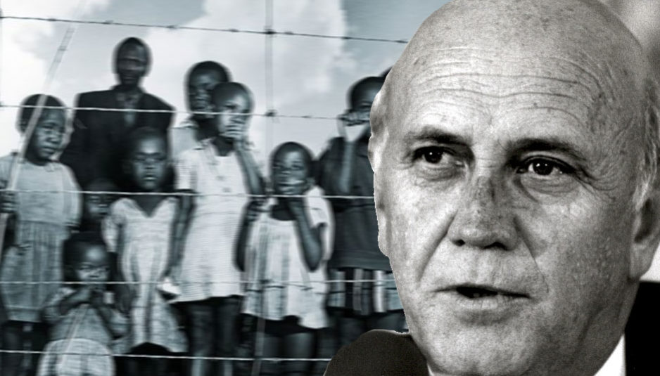 Apartheid Frederik Willem de Klerk