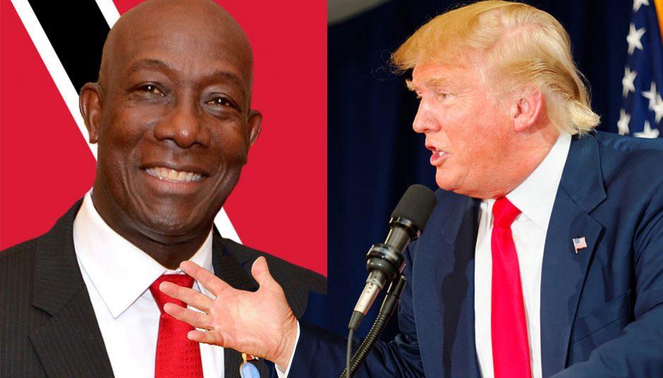 Etats-Unis menace Trinidad